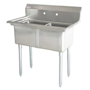 (2) Two Compartment Sink