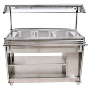 Hot Food Serving Counter / Table